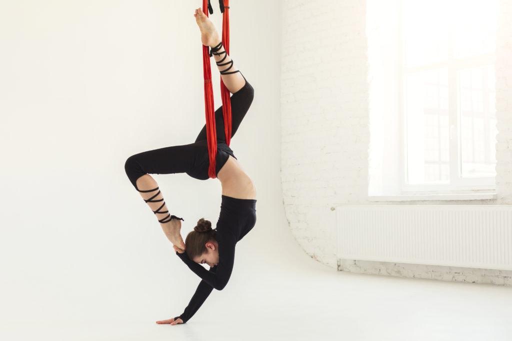 aerial yoga kids sparti